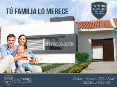 Casa en Venta en Santa Cruz de la Sierra Doble vía La Guardia OFERTA POR VIAJE, COND ASAÍ