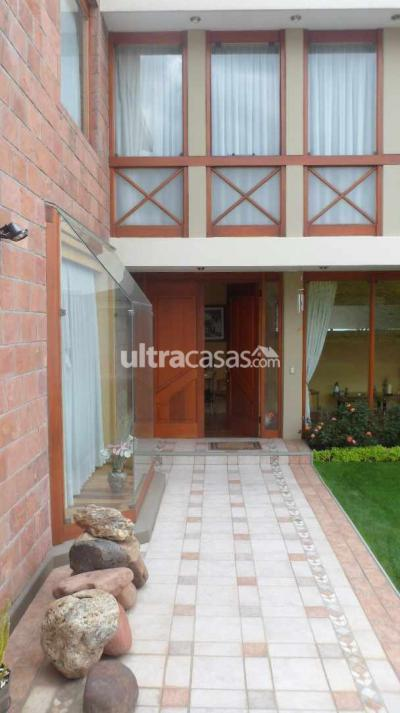 Casa en Alquiler en La Paz Achumani