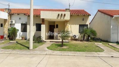Casa en Venta en Santa Cruz de la Sierra Carretera Norte Condominio Versalles calle c # 114