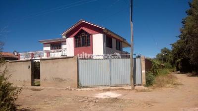 Casa en Venta en Cochabamba Sudoeste Carcaje Lote Nº525