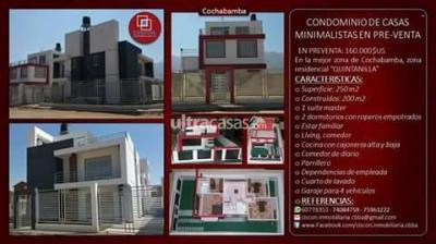 Casa en Venta en Cochabamba Mayorazgo Quintanilla