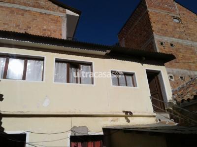 Casa en Venta en Sucre Sucre Calle Koritambo (entre calle Urcullo y Camargo)