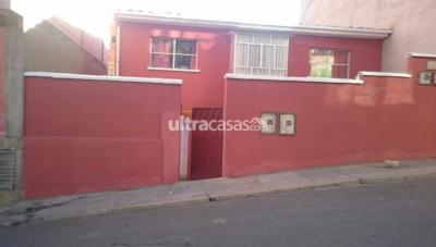 Casa en Venta en La Paz Pampahasi PAMPAHASI - SAMAPA / CALLE F, NRO 10