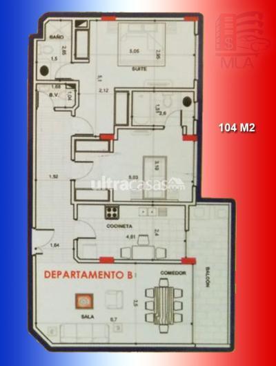 Departamento en Venta en Cochabamba Hipódromo ZONA: AV. JUAN PABLO II, PROX. CONDOMINIO MAGNOLIAS