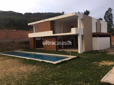 Casa en Venta en Sucre Sucre Yotala