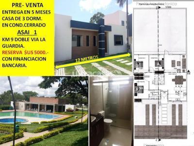Casa en Venta en Santa Cruz de la Sierra 8vo Anillo Sur KM9 DOBLE VIA  LA GUARDIA