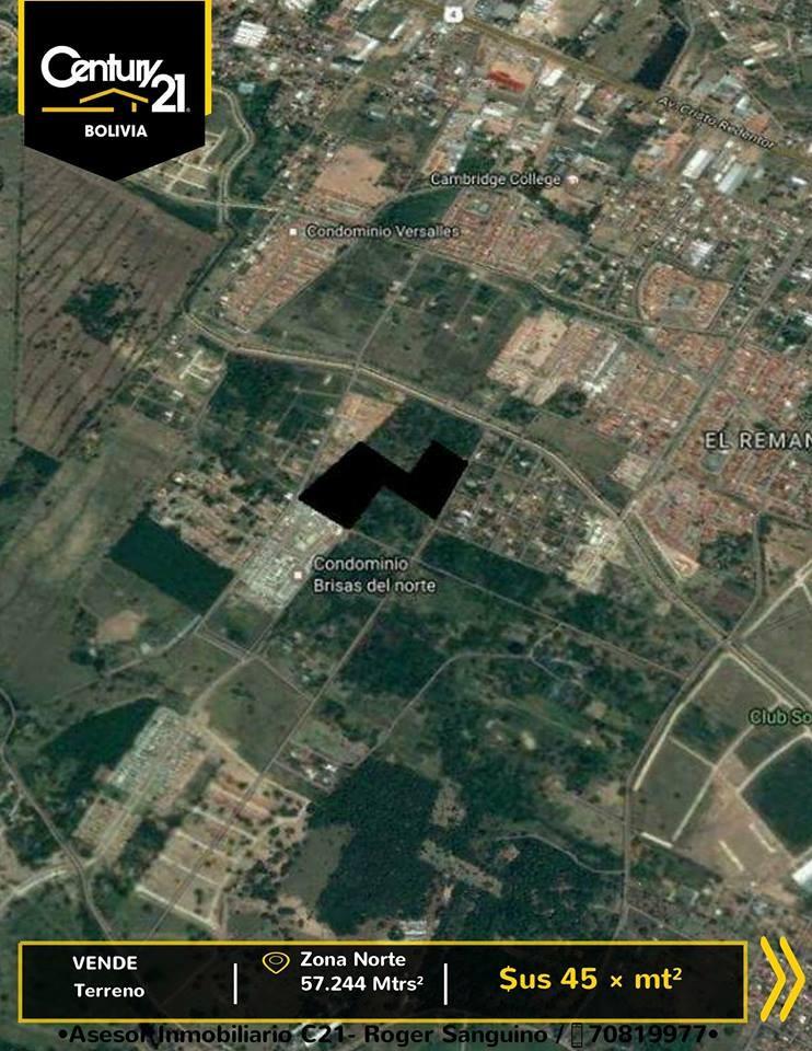 Terreno en Venta Terreno en venta para constructoras o inversionistas , km 8 al norte Foto 2
