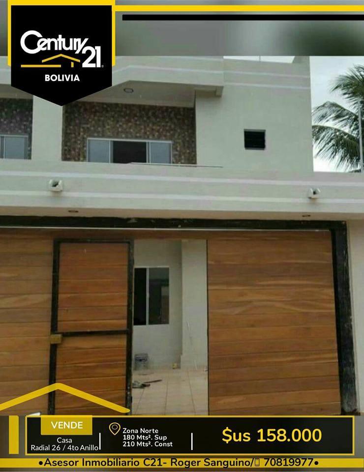Casa en Venta Casa en venta a estrenar, Radial 26  4 to anillo. Foto 2