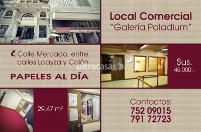 Local comercial en Venta en La Paz Centro Calle Mercado, entre calles Loayza y Colón