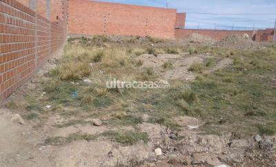 Terreno en Venta en El Alto 16 de Julio VENTA DE TERRENO