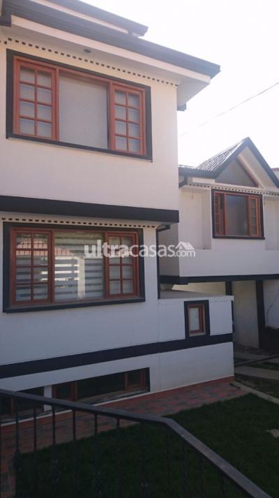 Casa en Anticretico en La Paz Achumani Las Lomas inicio