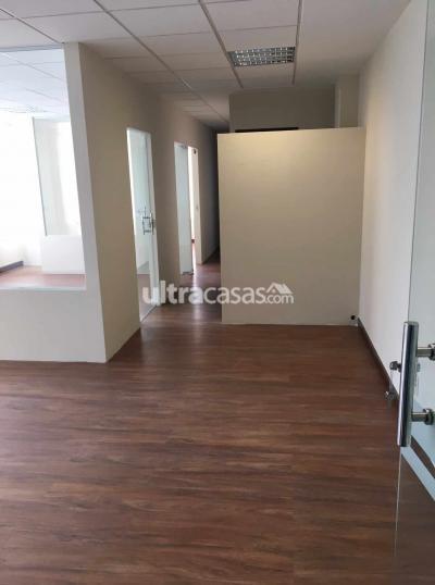 Oficina en Alquiler en La Paz Calacoto Calle 9 Calacoto No. 7979 esq. Av. Sanche Bustamante Edificio Vitruvio II Piso 4 oficina K