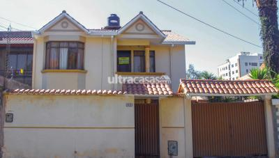 Casa en Venta en Cochabamba Cala Cala Calle Manchay Puito #2101