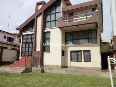 Casa en Venta en Cochabamba Tupuraya URBANIZACIÓN EL MIRADOR