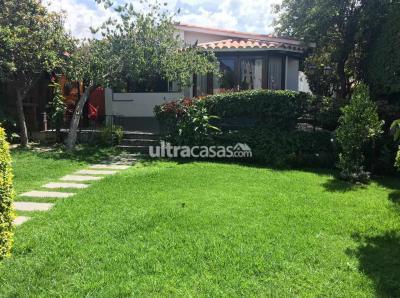 Casa en Venta en Cochabamba Aranjuez CASA EN ARANJUEZ