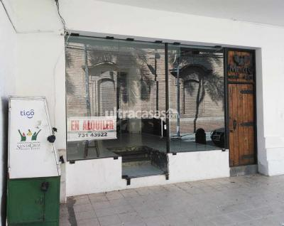 Local comercial en Alquiler en Santa Cruz de la Sierra Centro Calle René Moreno no. 56, entre calles Sucre y Ballivián. A media cuadra de la Plaza Principal - 24 de Septiembre.