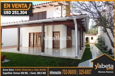 Casa en Venta en Santa Cruz de la Sierra 2do Anillo Este  Barrio Obrero, A 2 cuadras del 2do Anillo y 1 Cuadra de la Calle Charcas.