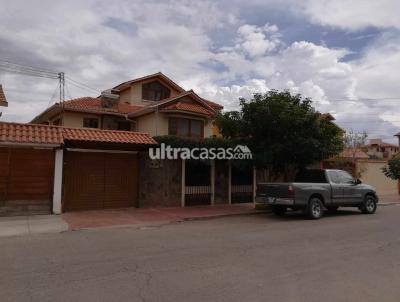 Casa en Venta en Cochabamba Noroeste Zona Hiper Maxi (Juan de la Rosa) sobre la calle Modesto Omiste