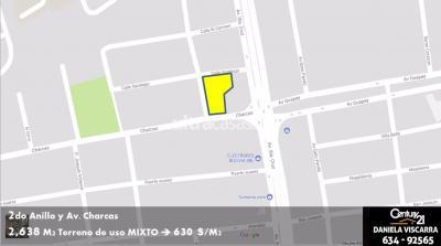 Terreno en Venta en Santa Cruz de la Sierra 2do Anillo Este Calle Charcas casi 2do Anillo