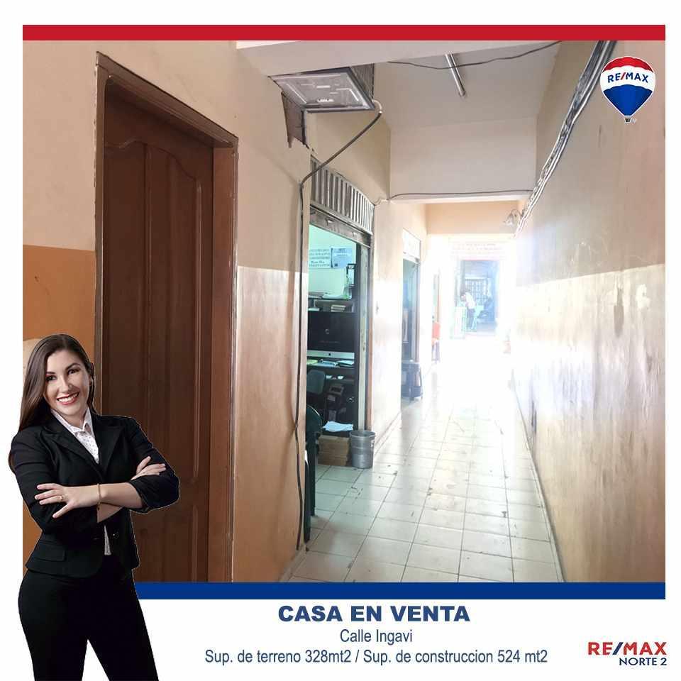 Casa en Venta Calle Ingavi (Entre Cordillera y Callau) Foto 1