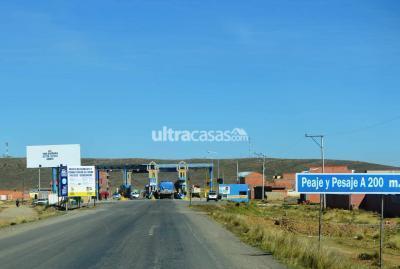 Terreno en Venta en El Alto 16 de Julio Laja, casi en la tranca camino a Tihuanaku o Desaguadero, a unas cuadras del camino troncal
