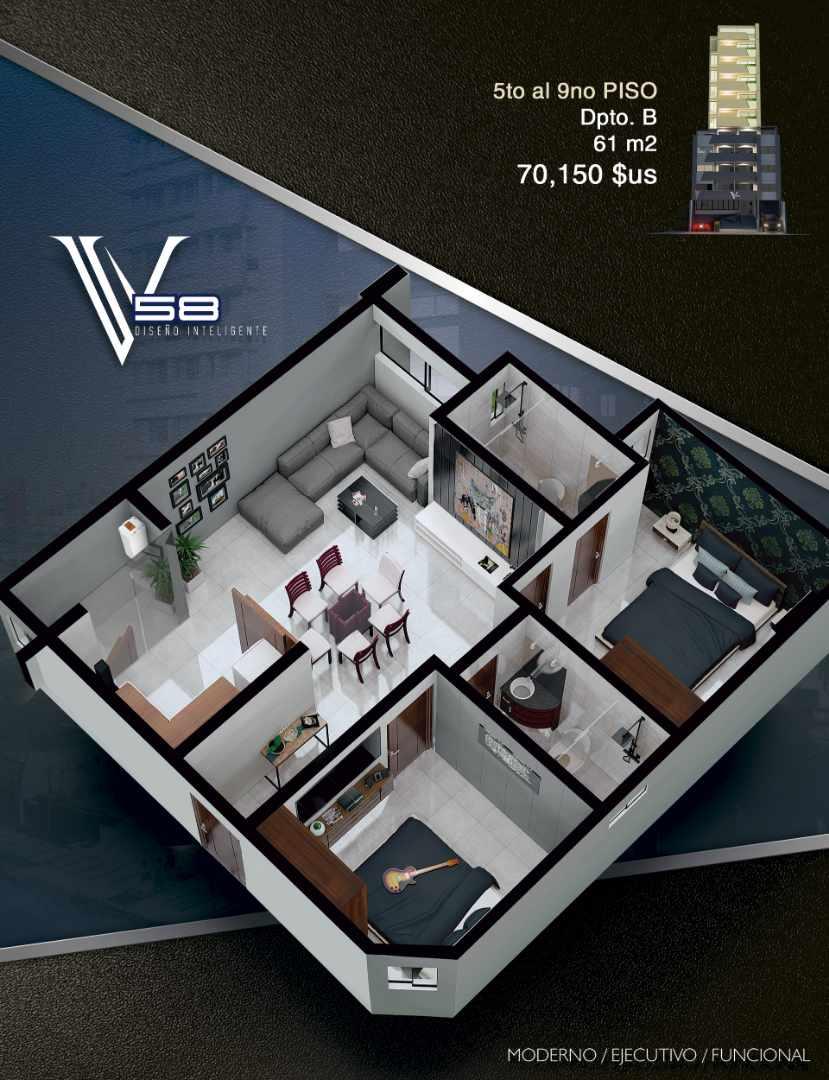 Departamento en Venta Av. Velarde #58 Foto 7