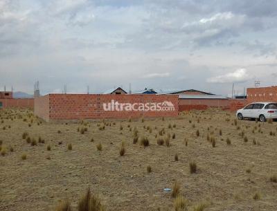 Terreno en Venta en El Alto Villa Adela Urbanización Berlin, pasando Kiswaras.
