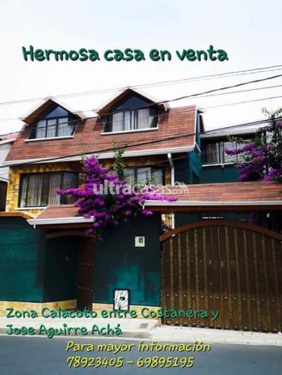 Casa en Venta en La Paz Los Pinos Las palmas calle 7