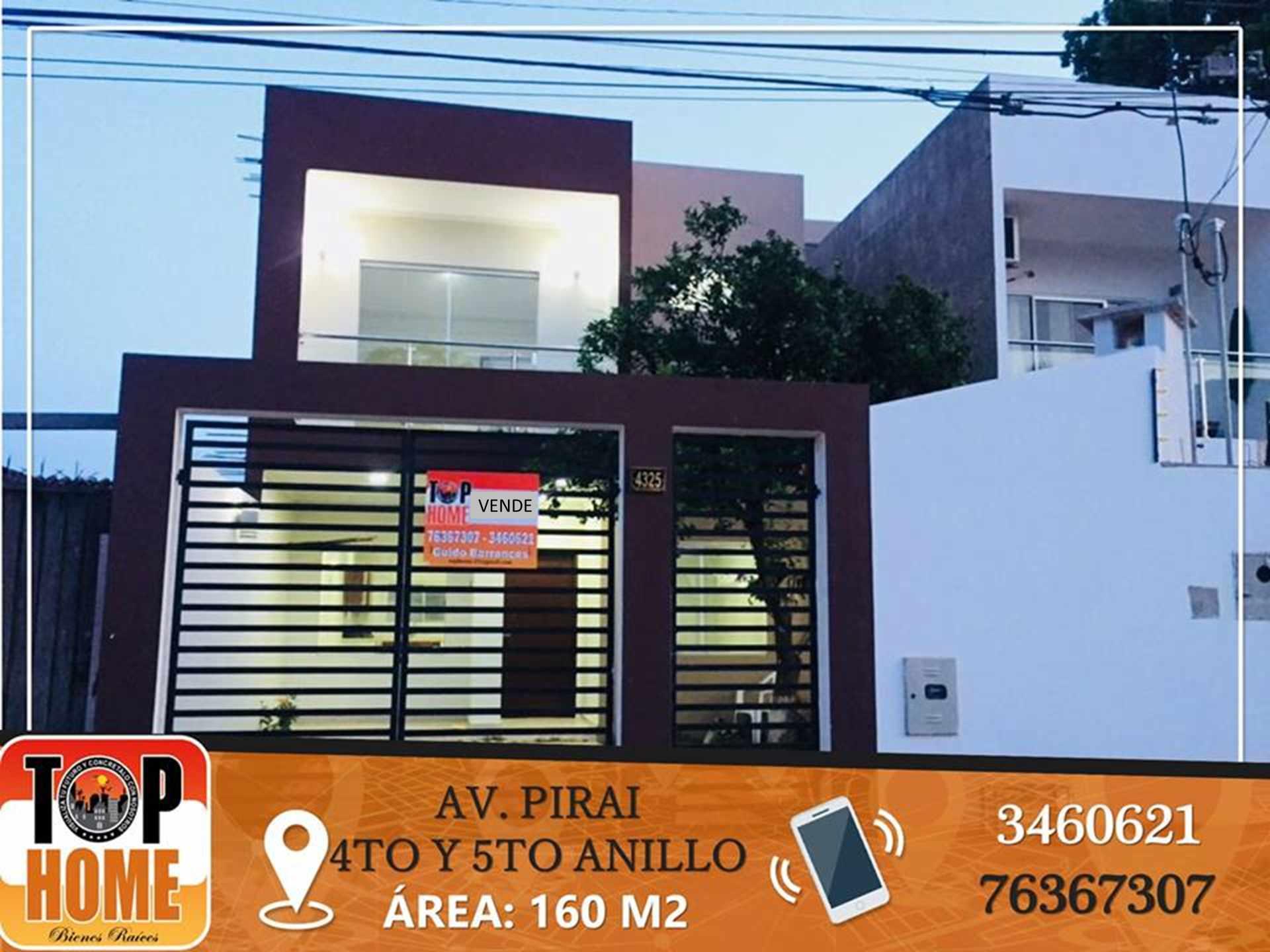 Casa en Venta AV PIRAI ENTRE 4TO Y 5TO ANILLO Foto 1