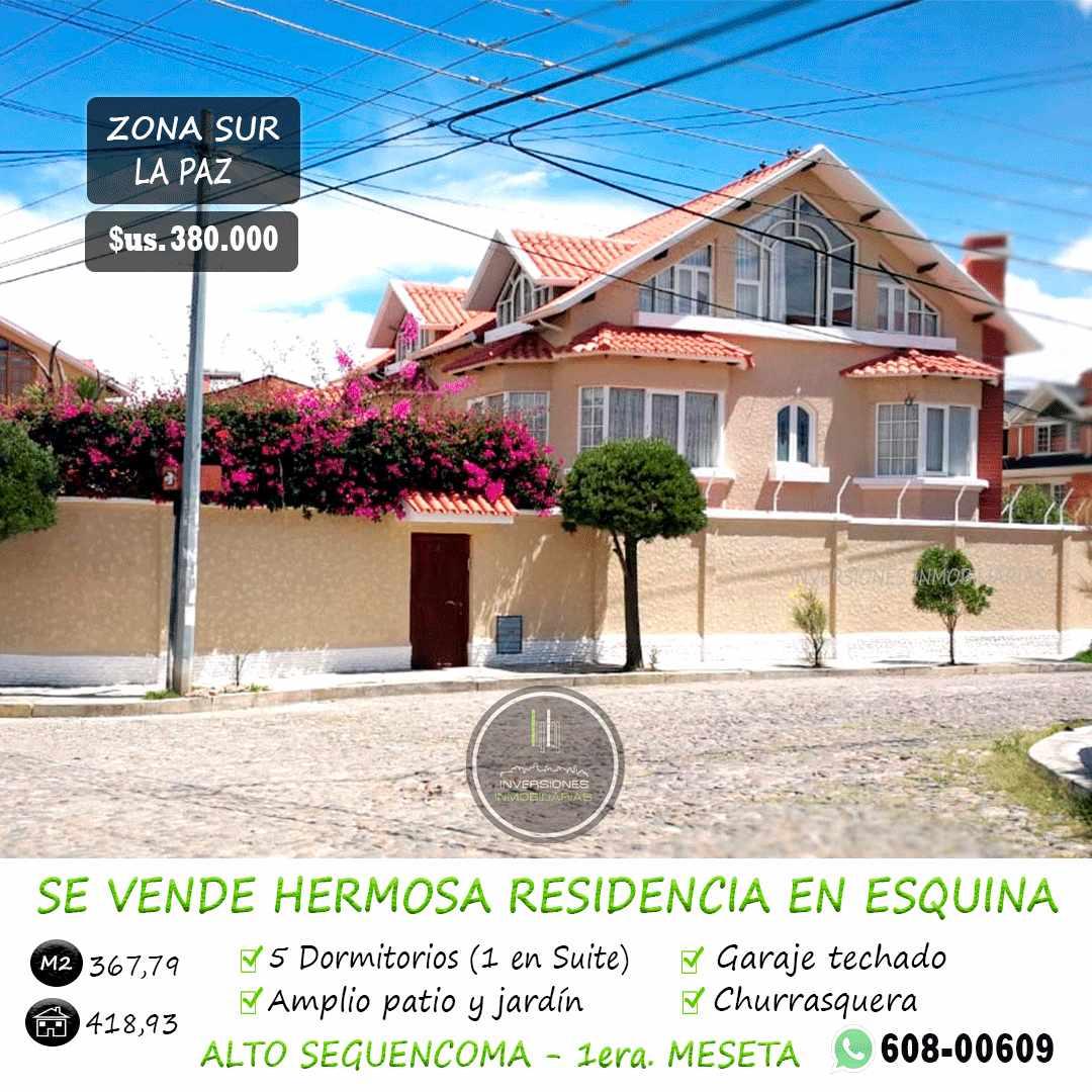 Casa en Venta ALTO SEGUENCOMA - 1RA MESETA Foto 1