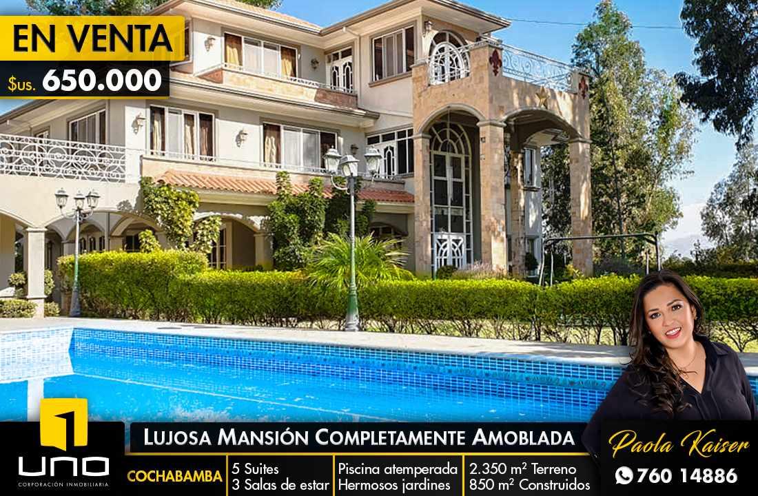 Casa en Venta Hermosa residencia en venta en Cochabamba Foto 1