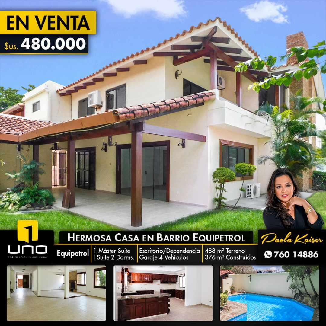 Casa en Venta Hermosa casa en venta en Equipetrol Foto 1