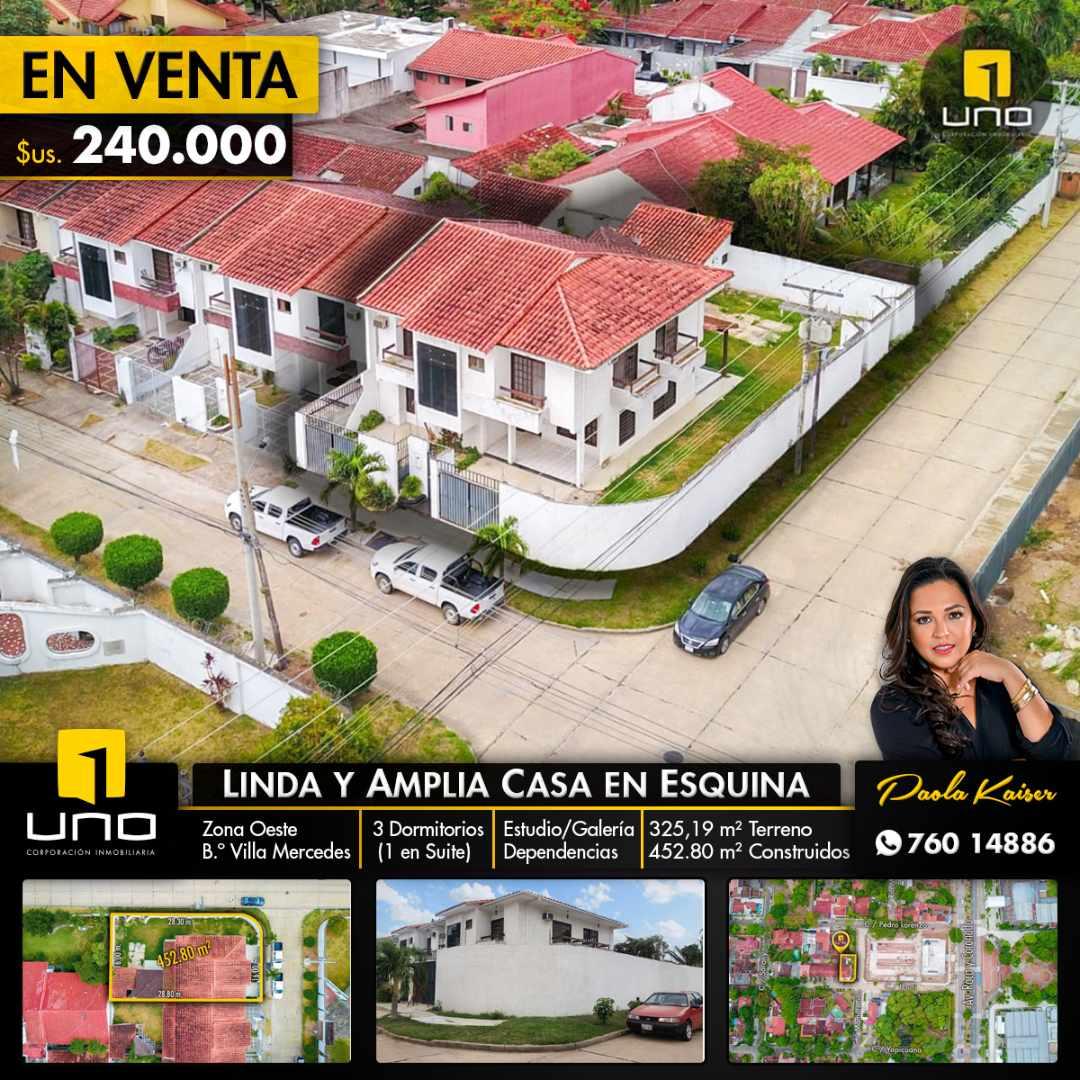 Casa en Venta Casa en esquina, Zona Roca y Coronado, Villa Mercedes Foto 1