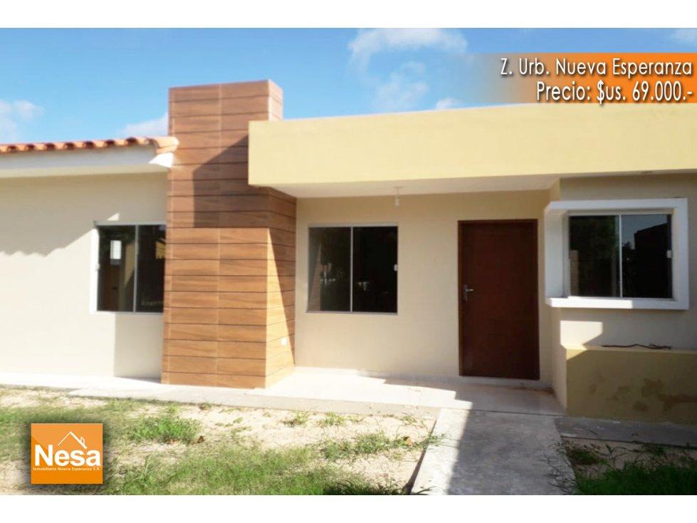 Casa en Venta CASA A ESTRENAR EN VENTA - URB. NUEVA ESPERANZA Foto 1